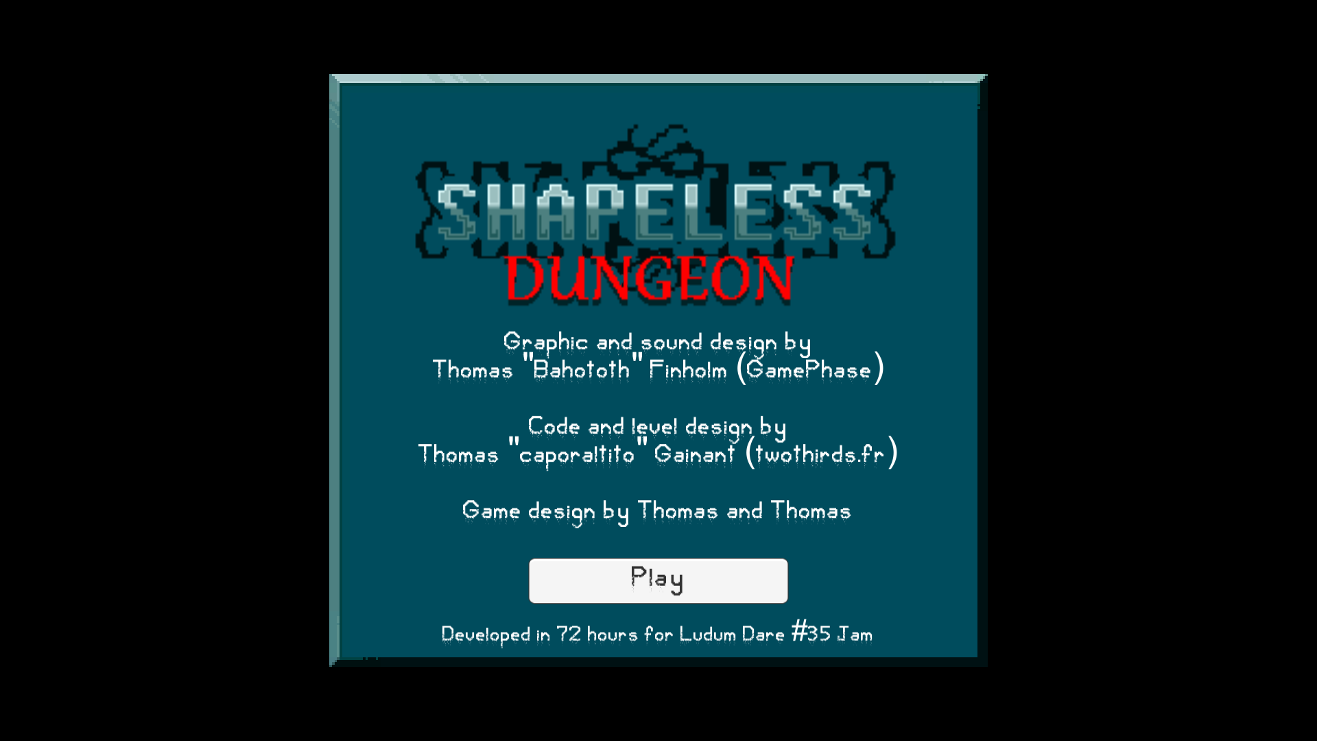 Shapeless Dungeon